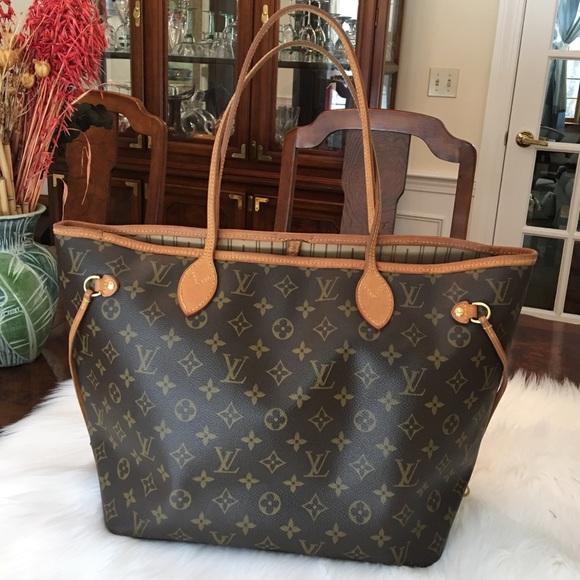 Louis Vuitton Handbags - Louis Vuitton neverfull mm 04bf1ca97b